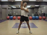 Bent arm swings