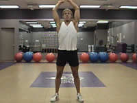 Dual arm swings